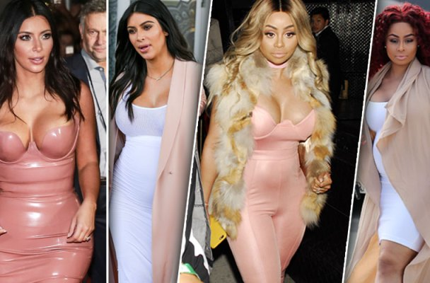blac chyna pregnant feud kim kardashian style pics