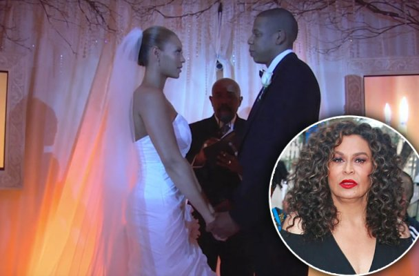 jay z beyonce wedding mom designed dress hated today show interview