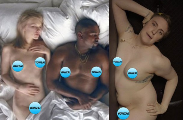 kanye-west-nude-famous-video-taylor-swift-naked-lena-dunham-unsafe-10