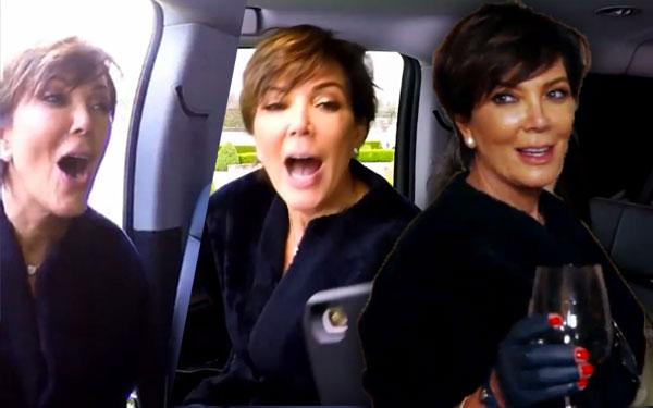 Kris Jenner Drunk KUWTK Sneak Peek Weight Gain Pics 5