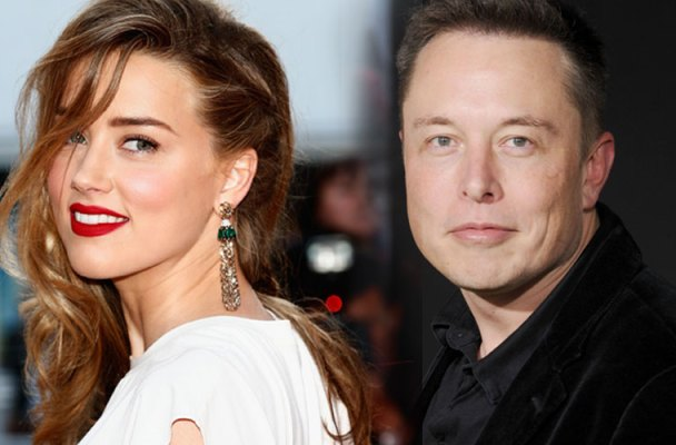 Amber-Heard hotel Elon Musk divorce Johnny Depp