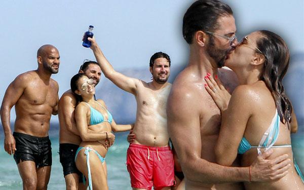 Eva Longoria Pregnancy Rumors Baby Bump Bikini Pics 1