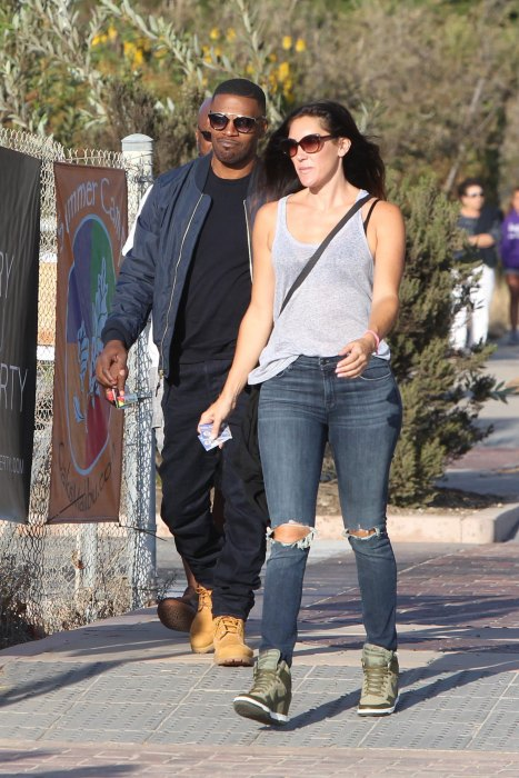 Jamie Foxx | With Girlfriend Photos-Images 2012 | Hollywood