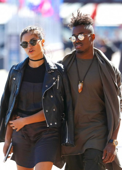 Shanina Shaik and DJ Rukus are a Picture Perfect couple