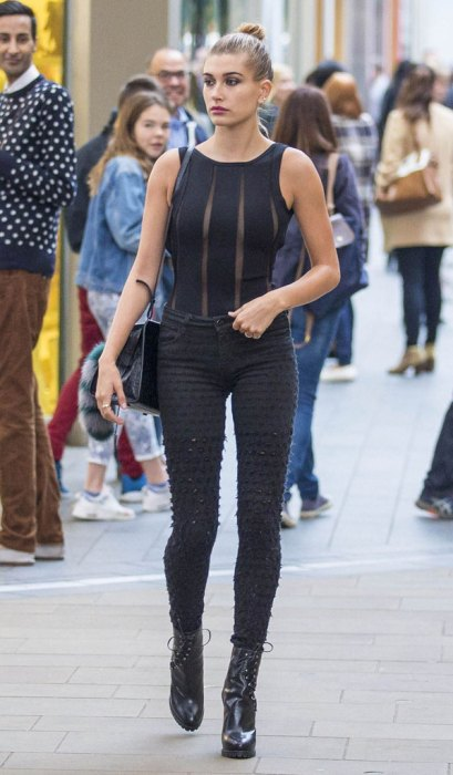 Exclusive... Hailey Baldwin Goes Clothes Shopping In London