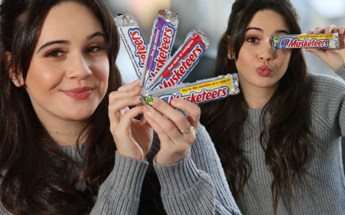 X Factor Bea Miller 3 Musketeers Throw Shine Campaign Video