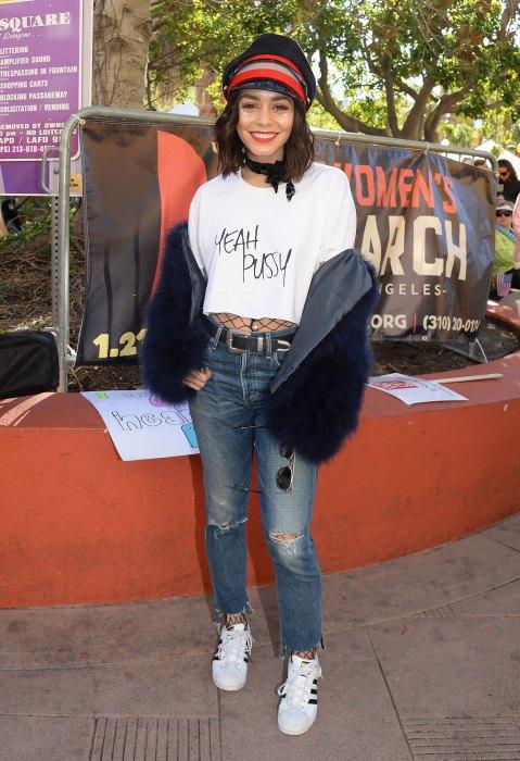 Celebrities join the Women's March inLosAngeles