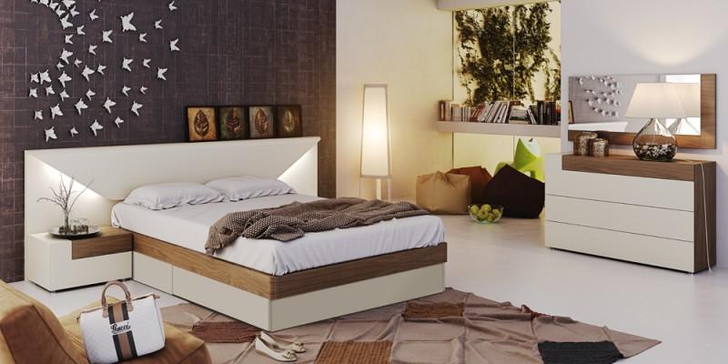 Elena Modern Italian Bedroom set - N Star Modern Furniture