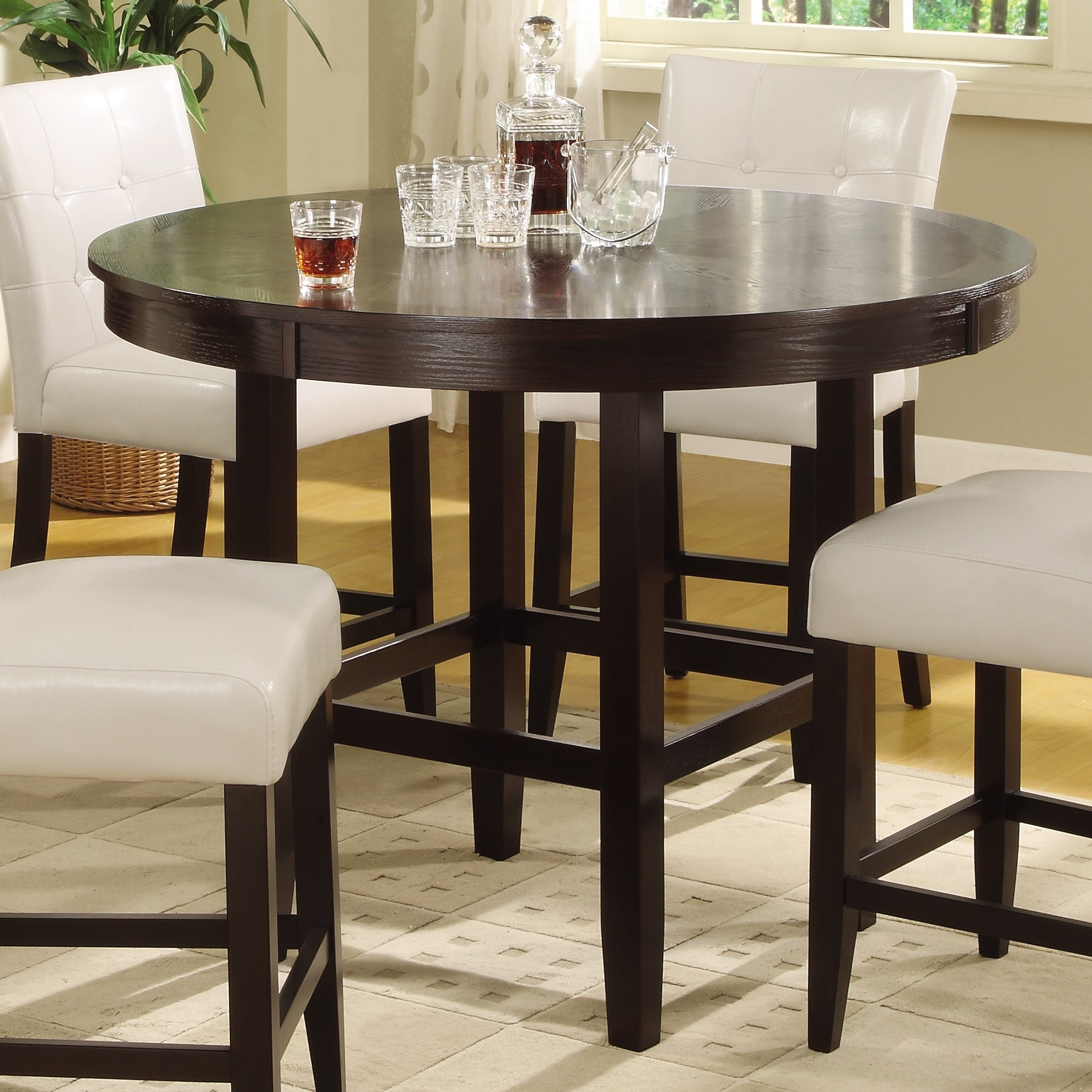 ... Kitchen Tables More Kitchen Tables And More Round Glass Dining Room  Table More Views Builtin Kitchen ...