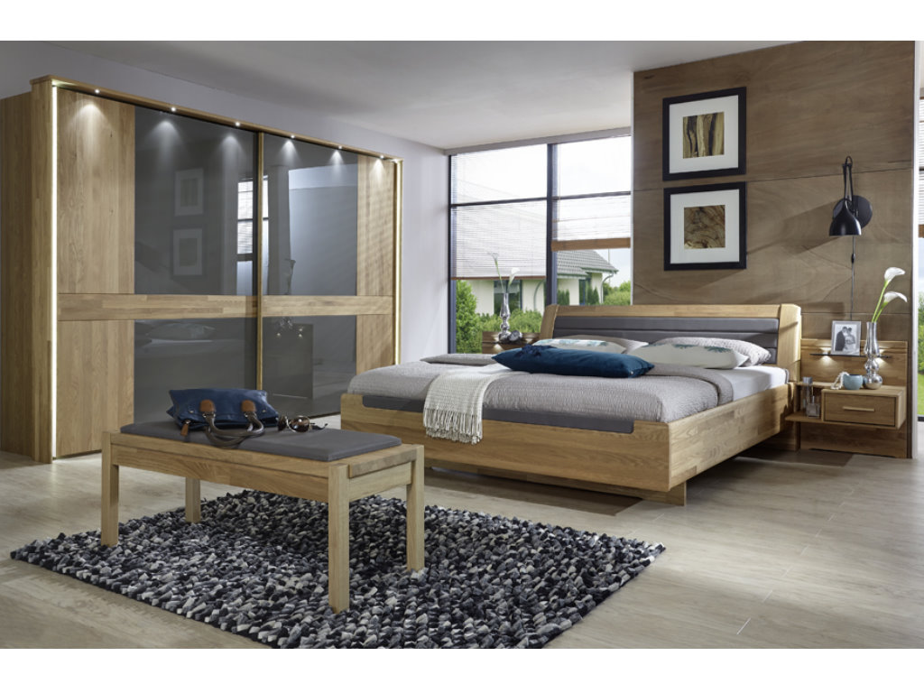 Schlafzimmer Set Erle Star Möbel Möbel Outlet Buffalo Schlafzimmer Set Swt B250cm In