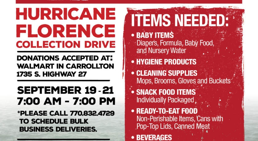 Southwire\u0027s Project GIFT to host a disaster relief collection for - Disaster Relief Flyer