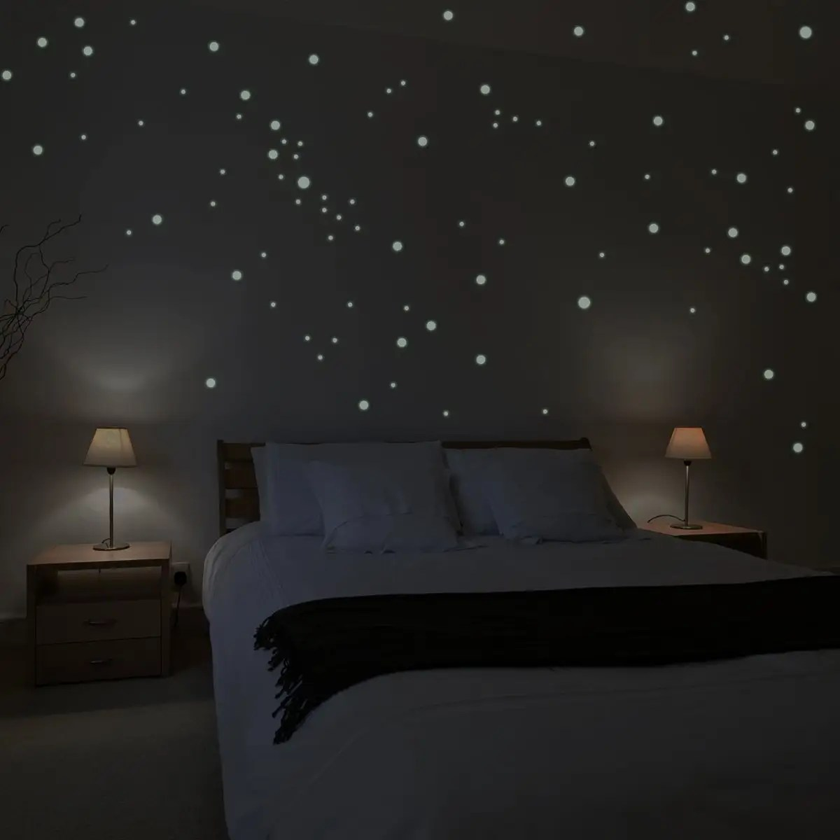 Neon Verlichting Kinderkamer 4 Best Glow In The Dark Star Stickers