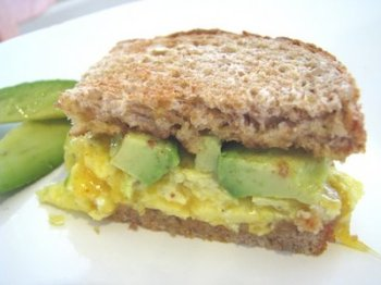 Avocado Egg Cheese Sandwich