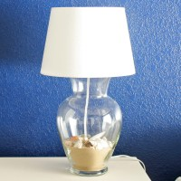 Glass Vase Lamp
