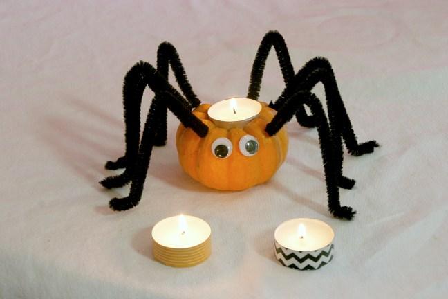 Mini Pumpkin Spider