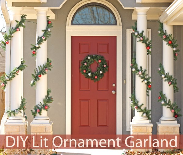 Potter Barn Knock-Off Garland