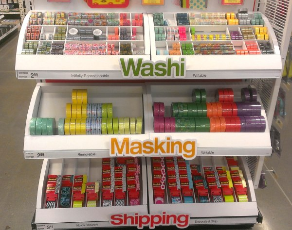 Office Depot Washi Tape Display