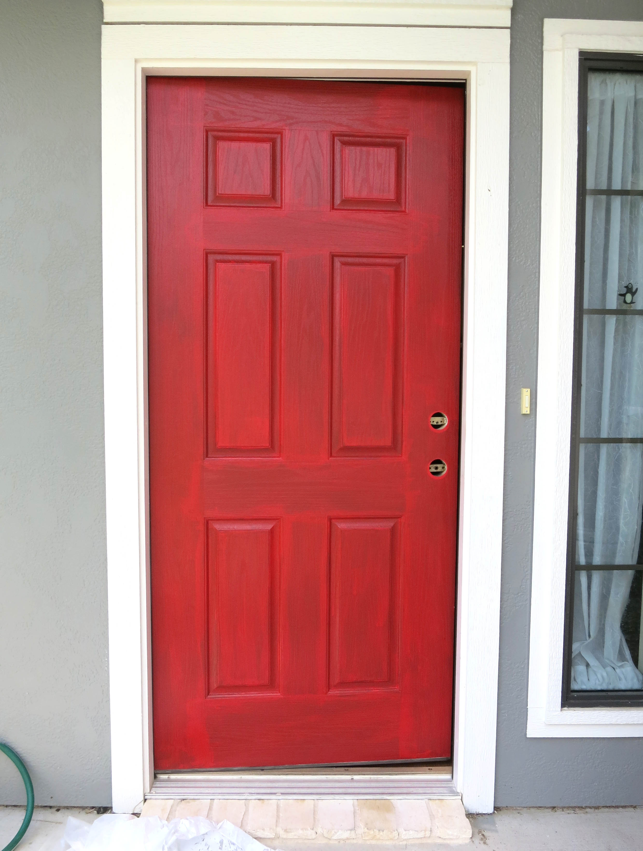 painting a front doorHappy Door  Happy House  Stars  Sunshine