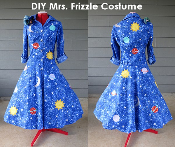 diy mrs. frizzle costume