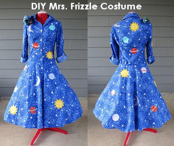 diy mrs. frizzle costume