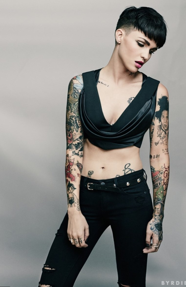 Photo Dj Girl Wallpaper Ruby Rose Celebrity Looks And Style Must See