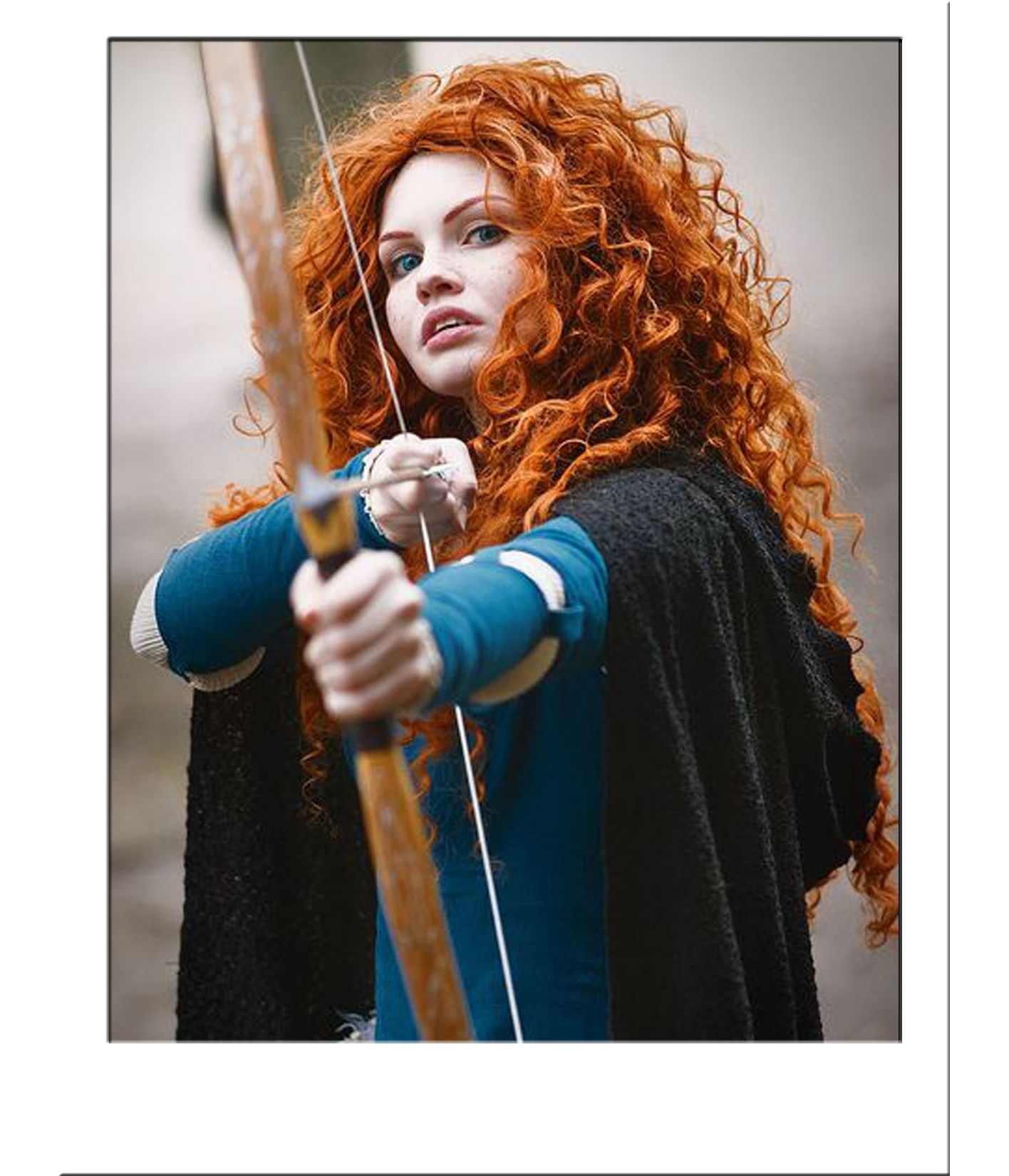 Curly Hair Length Chart Merida Brave Curly Wig Costume Wigs Star Style Wigs