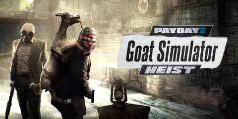Payday 2 Goat Simulator Heist