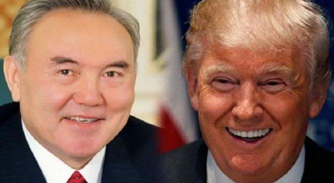Какие документы подпишут Назарбаев и Трамп                                                                                                                            Назарбаев пен Трамп қандай құжаттарға қол қояды