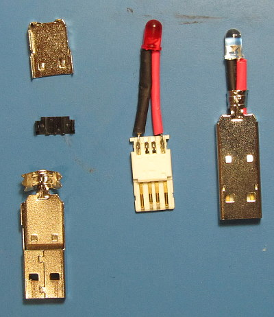 USB LED Torch Beginners Electronic Project