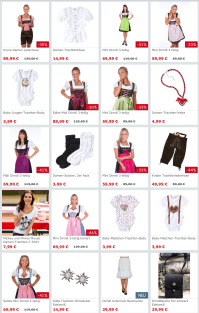 Tracht shopping on a budget  Starting over in Stuttgart