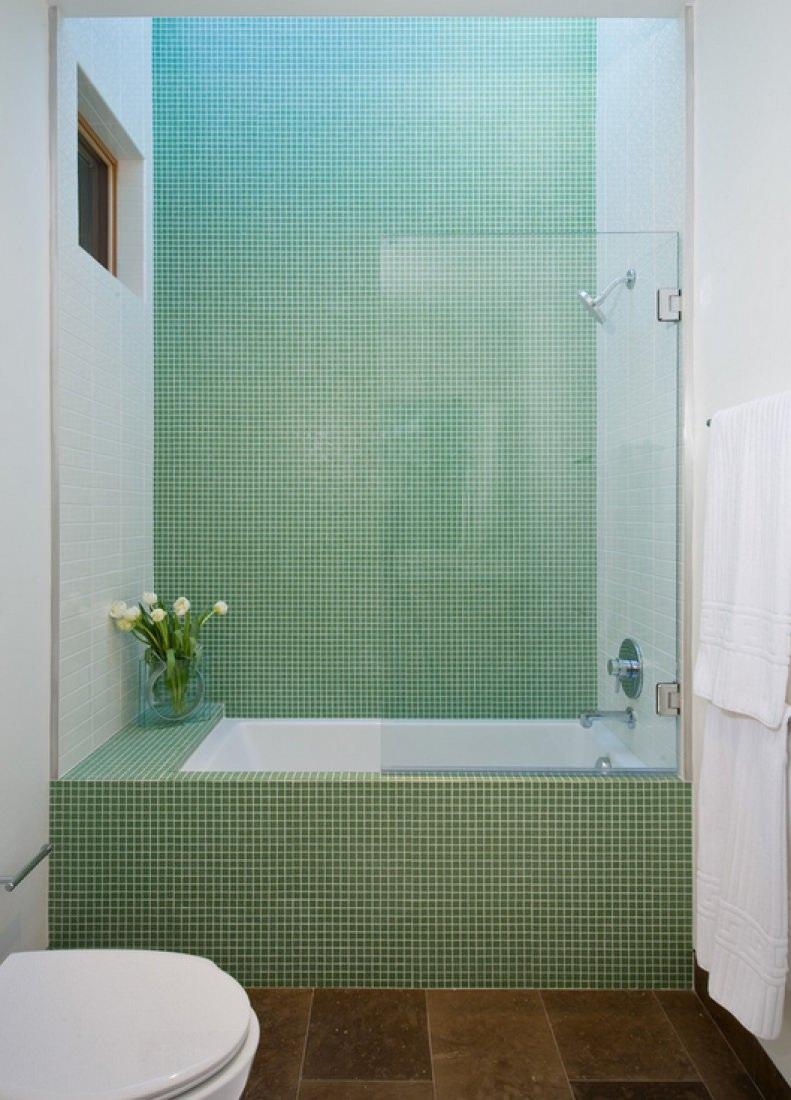 Mosaico Bagno | Mosaico Bagno Verde