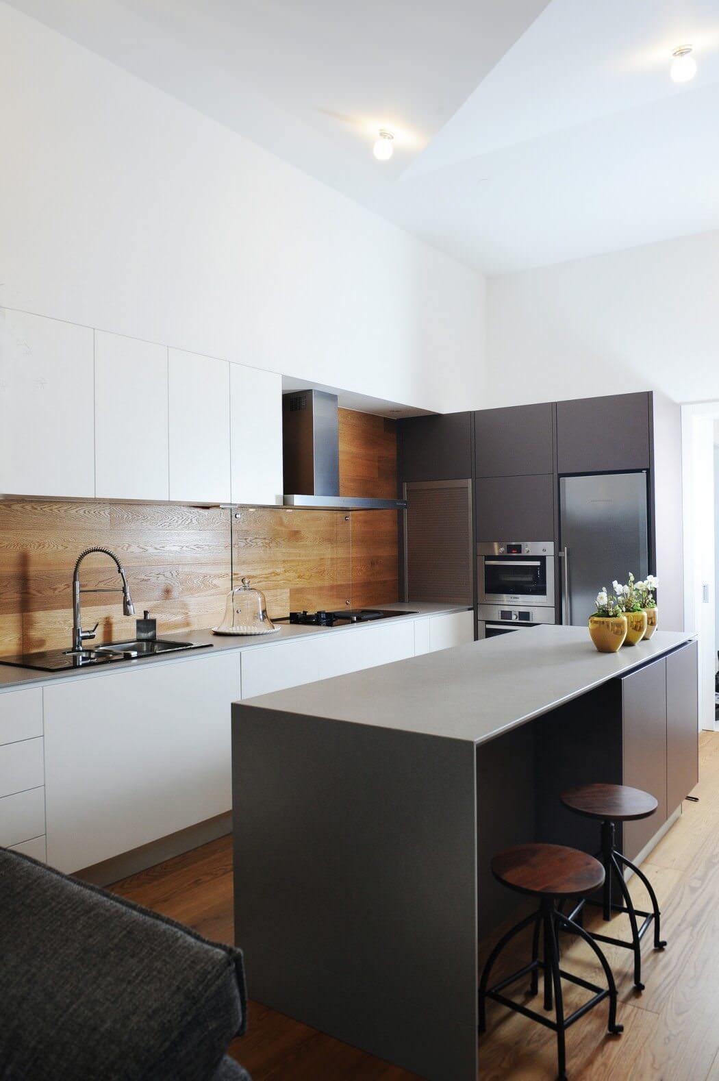 Cucina Moderna Legno Chiaro | 100 Idee Cucine Moderne In Legno ...