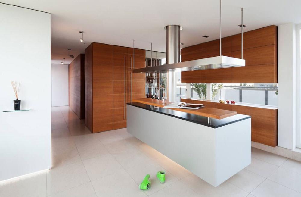 Cucina Legno Bianco Moderna