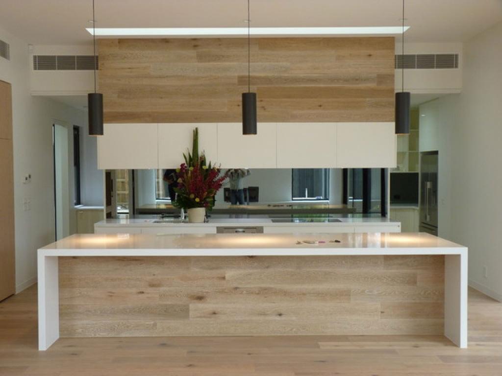 Cucina Moderna Con Pavimento Scuro | Cucina Moderna Legno Pavimenti ...