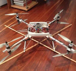 Quadcopter-early-builds