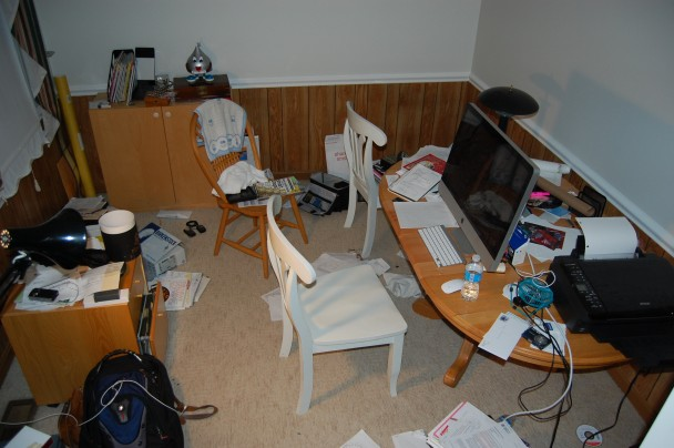 Your office should not look like this.