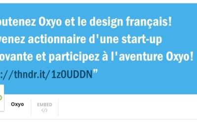 Oxyo annonce une levée de fonds participative sur Anaxago.