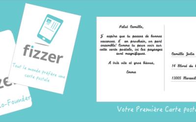 Fizzer – Vos photos en cartes postales