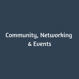 Community, Networking & Events