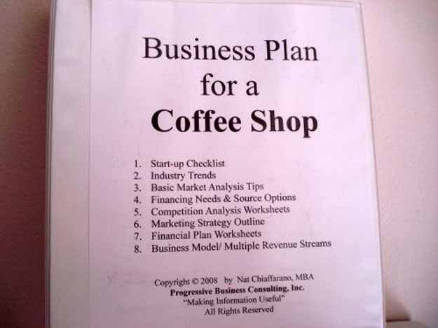 To Open Your Own Coffee Shop - business startup checklist