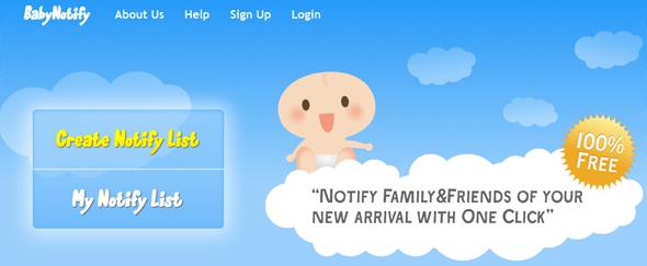 BabyNotify - Featured on StartUpLift