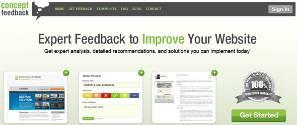 Concept Feedback - Featured on  StartUpLift