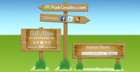 ParkGrades.com - Featured on StartUpLift