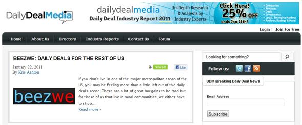 DailyDeal Media - Startup Featured on StartUpLift