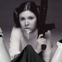 This is one of those moments when Princess Leia lets the stormtrooper to shoot first...