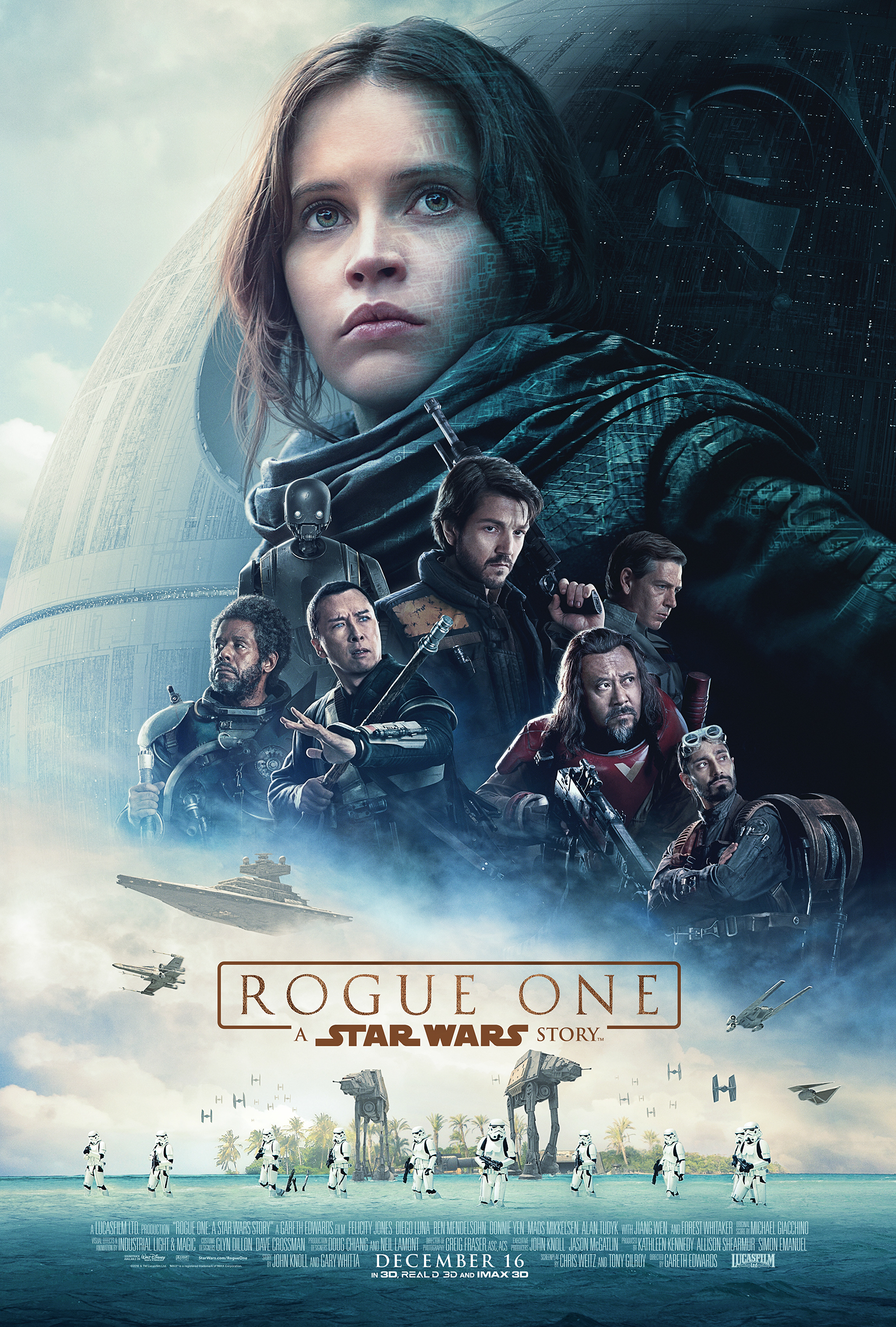 Star Wars Poster Rogue One A Star Wars Story Poster Revealed And Trailer
