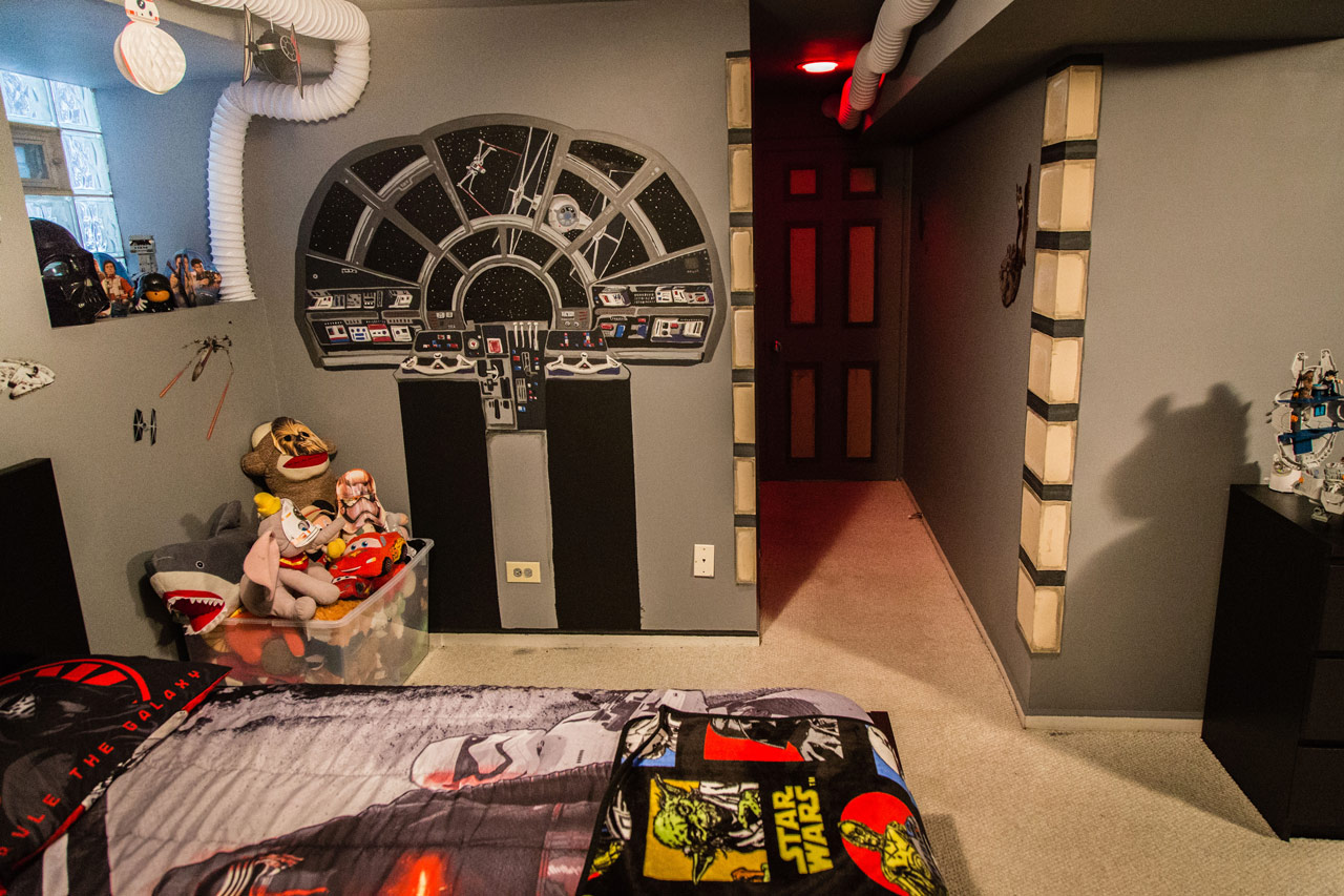 Star Wars Bedroom Ideas Themes Fully Operational Fandom Desmond 39s Creative Star Wars