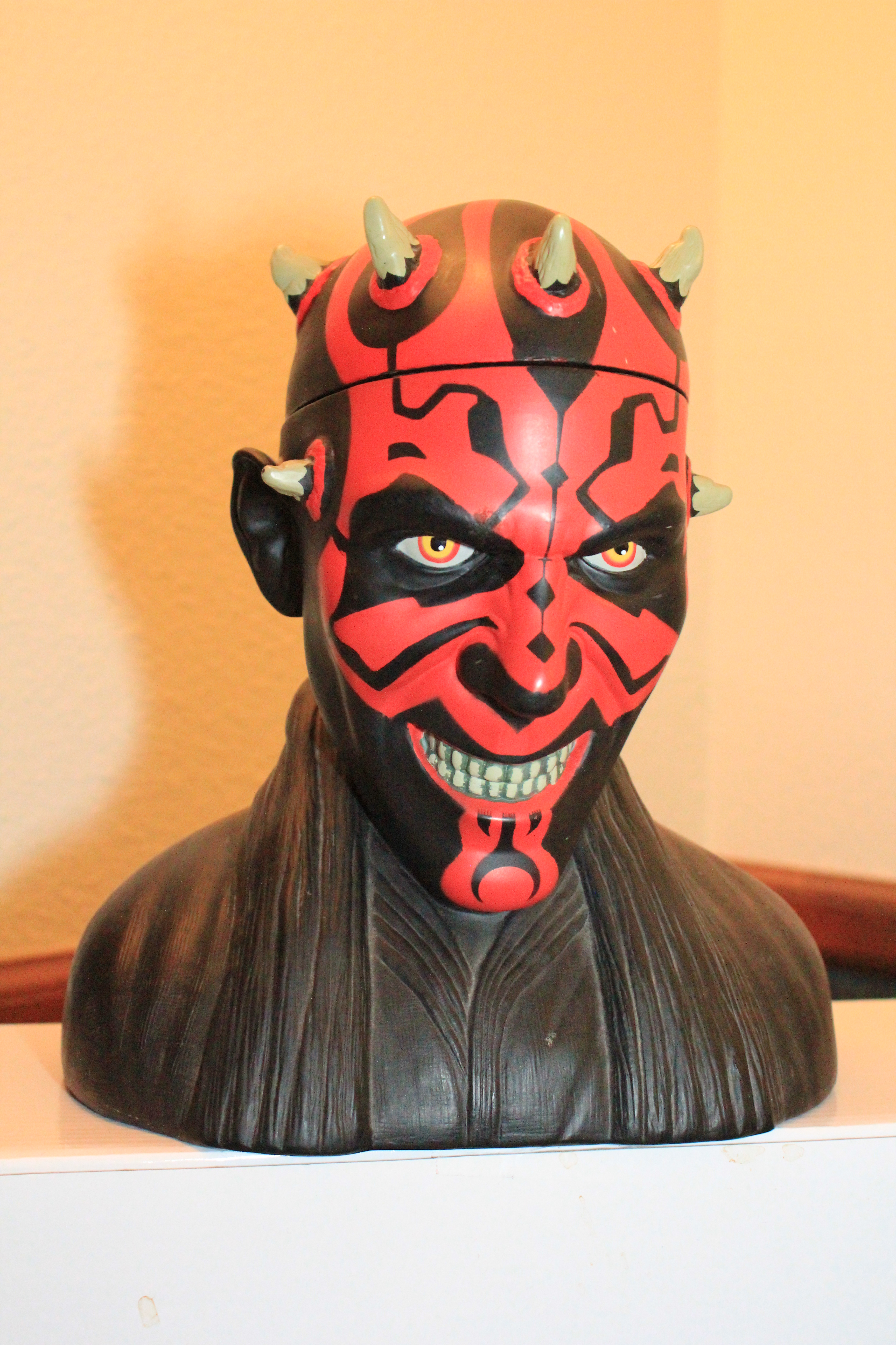 Star Wars Cookie Jars Darth Maul Cookie Jar Bust By Applause Review Star Wars