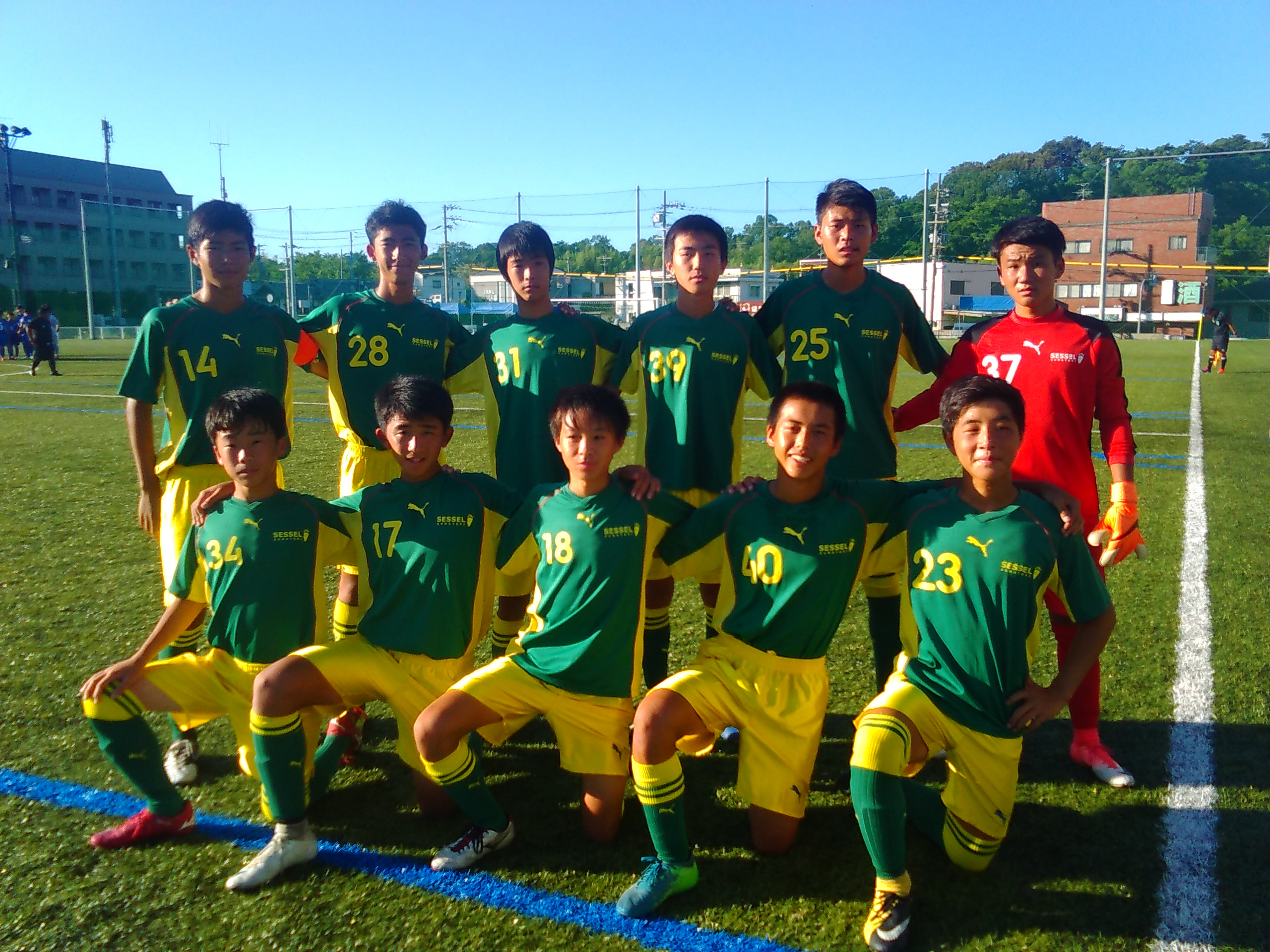 Football Sessel U15 試合の結果 8 25 Sessel Kumatori Football Culb Jy