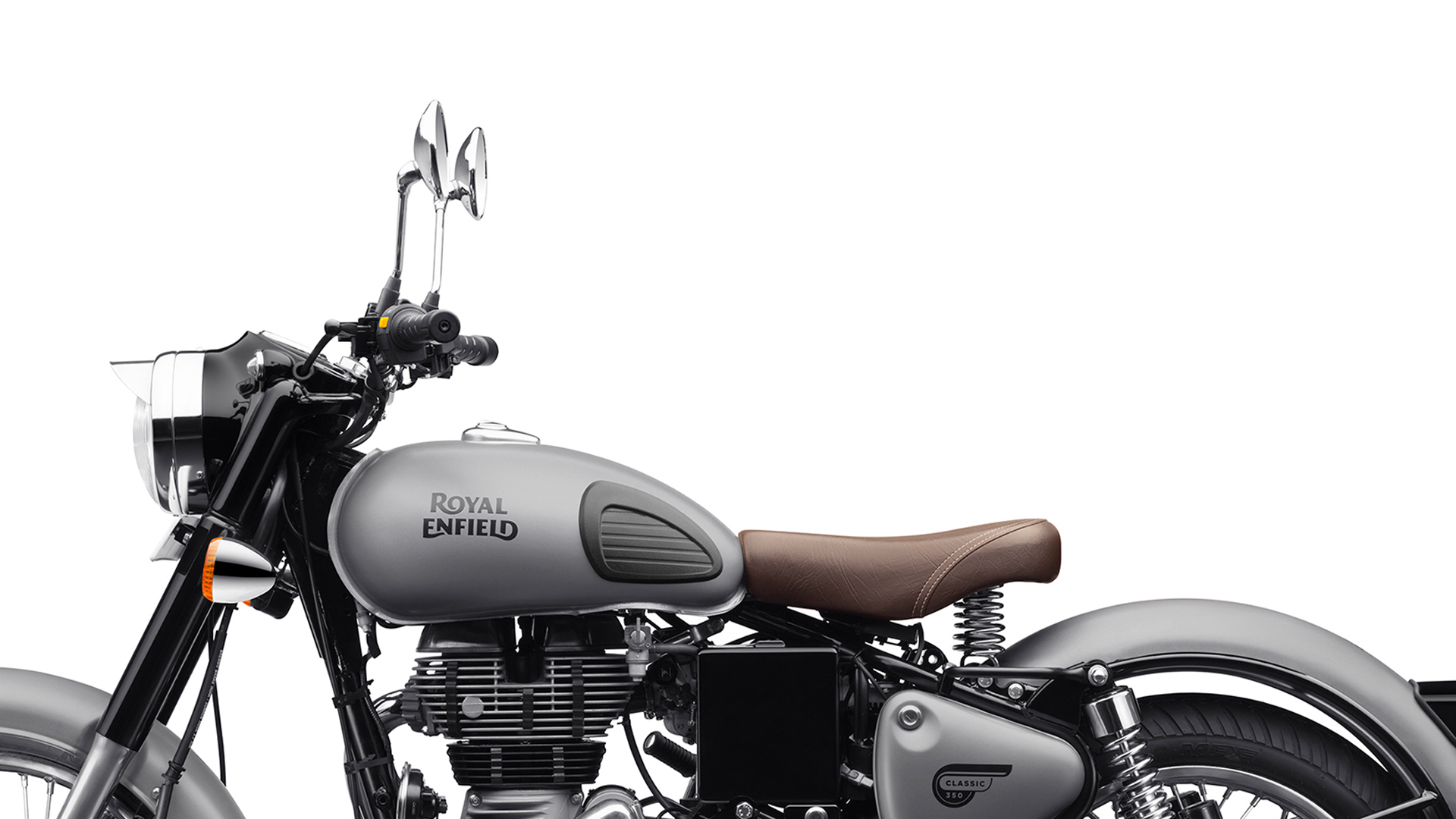 Bullet 350 Hd Wallpaper Royal Enfield Classic 350 2017 Gunmetal Grey Bike Photos